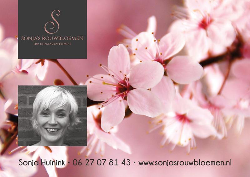 Sonja's rouwbloemen